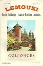 LEMOUZI N° 46 bis/1973 + COLLONGES LA ROUGE + Corrèze