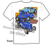 Drag Racing T-shirt, Hot Rods T Shirt Legends Of The Past Tee, Sz M L XL 2XL 3XL