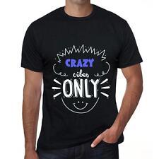 CRAZY Tshirt, Vibes Only Tshirt, Hommes Tshirt Noir, Cadeau