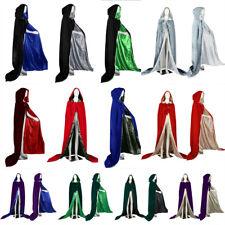 NEW Velvet Hooded Christmas Cloak/Wedding Cape/Coat Halloween Plus Sise S-6X