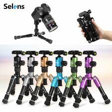 Selens Mini Portable Camera Desktop Macro Travel Tripod Stand + Ballhead + Bag