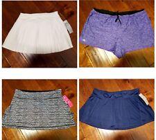 New IDEOLOGY Women's Sizes S M XL XXL Skorts Athletic Tennis Golf Skirt & Shorts