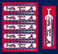 "MLB ATLANTA BRAVES TEAM LOGOS CEILING FAN REPLACEMENTS BLADE 52""-5 BLADES"