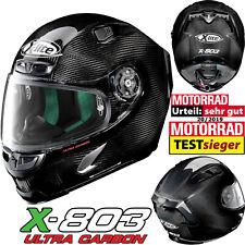 X-LITE X-803 Ultra Carbon Puro Sport Racinghelm Ultra-Wide Visier Pinlock NERS