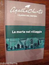 Agatha Christie I classici del Mistero Rba LA MORTE NEL VILLAGGIO rilegato vendo