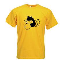 Effronté Chimpanzé art urbain pochoir Graffiti T-Shirt cool