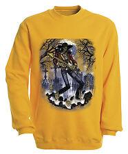 (10243-1 Yellow) Sweatshirt Sweater S M L XL XXL 3XL 4XL Shirts - Ghost Guitar