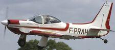 MJ-53 Autan French Aerobatic Jurca MJ53 Airplane Wood Model Replica Large New