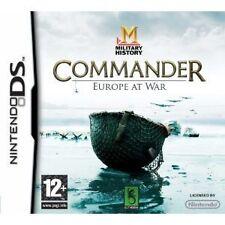 Military History Commander: Europe at War (Nintendo DS), Nintendo DS, Nintendo D