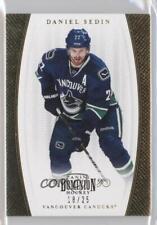2011-12 Panini Dominion Gold #13 Daniel Sedin Vancouver Canucks Hockey Card