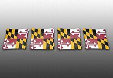 Maryland State Flag Specialty Custom Cornhole Bags -Set of 4 - Baggo - Corn Toss