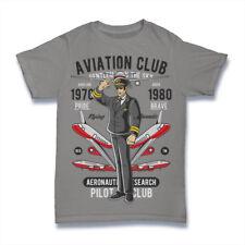 Funny T-shirt for men - AVIATION CLUB gift idea for pilot
