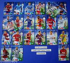 PANINI ADRENALYN CHAMPIONS LEAGUE 2013 2014 13 14 Star Player scegliere/CHOOSE