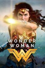 """Wonder Woman""..Gal Gadot & David Thewlis..Classic Movie Poster Various Sizes"