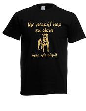 Herren T-Shirt Rotweiler (Hund,Tier) bis 5XL