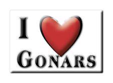 CALAMITA FRIULI VENEZIA GIULIA FRIDGE MAGNET MAGNETE SOUVENIR LOVE GONARS (UD)