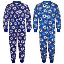 Chelsea FC - Pijama de una pieza para niños - Producto oficial - Azul