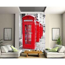Adesivi gigante decocrazione : Cabina telefonica inglese 1323
