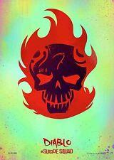 Suicide Squad Film Posters  - Diablo - Option 3 - A3 & A4