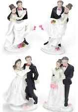2 Stück Tortenaufsatz Tortendeko Brautpaar Hochzeit Tortenfigur Lustige Figuren
