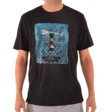 RIP Curl lost at sea S/s té t-shirt té camisa cte4hd Black