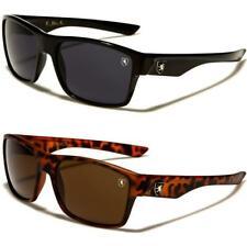 Nuevas Gafas de Sol Negro Marrón para Hombre Damas Diseñador Envoltura De Escudo Grande Retro UV400