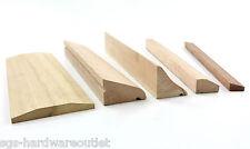 HARDWOOD THRESHOLD WEATHER BAR Wedge Rain Deflector Wood Timber Door Sections