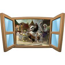 Sticker enfant fenêtre Kun Fu Panda réf 965 965