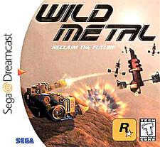 Wild Metal (Sega Dreamcast, 2000) -Complete