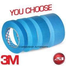 3 M azul coche de cinta de enmascarar detallando Suran Azul Cinta de enmascarar seleccionar que tu elijas