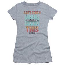 Acorazado Cant Toque Este Júnior Camiseta