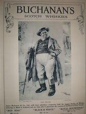 Buchanan's Scotch Whisky art advert Dickens Tony Weller by Frank Reynolds 1914