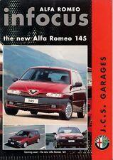 Alfa Romeo In Focus Mid 1994 UK Market Sales Brochure 33 145 155 Silverstone 164