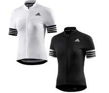Women's Adidas Climachill Cycling Biking Jersey Bike Top Shorts Sleeve T-Shirt