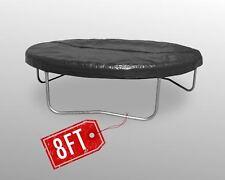2.4 M trampoline Noir Housse de pluie impérméable