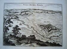 Ribnitz Damgarten Vorpommern Merian  Kupferstich 1652