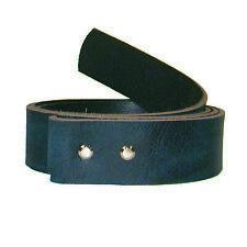 Wechselgürtel -ANDVARI- used look in blau Büffelleder Echtleder Gürtel Buckles