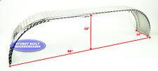 (2)- Aluminum 14 Gauge Boat or Utility Trailer Fenders Tandem Axle 10 x 68 x 16