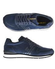 Emporio Armani Shoes Sneaker % Leather Man Blue X4X223XL201-D879