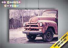 Poster Vintage Car Voiture Art