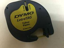 DYMO LETRA TAG 12mm x 4 M