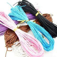 10m 1mm algodón encerado, cable de Stiring Joyería De Perlas haciendo fiding elige el color del Reino Unido