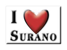 CALAMITA PUGLIA ITALIA FRIDGE MAGNET MAGNETE SOUVENIR I LOVE SURANO (LE)