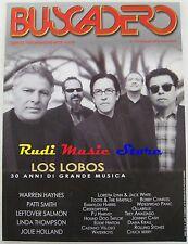 BUSCADERO 257 Los Lobos Patty Smith Rolling Stones Emmylou Harris  NO cd vhs *