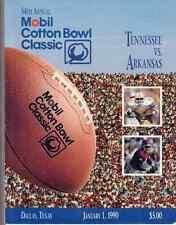 Tennessee vs. Arkansas 54th Annual Mobil Cotton Bowl Classic 1990