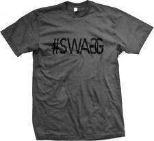 #SWAGG Swag Hashtag Double G Hip Hop Rap Music Lyrics Sayings Mens T-shirt
