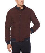 Perry Ellis Mens Quilted Full-Zip Puffer Jacket
