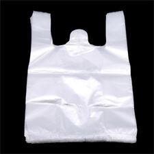 Transparent Plastic Retail Shopping Supermarket Bags Handles Packaging Bags jian