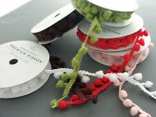 American crafts 3 yard spool pom pom trim/ribbon