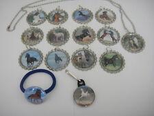 Horses  necklaces, zipper pulls, bracelets hair ties  party favors  birthday
